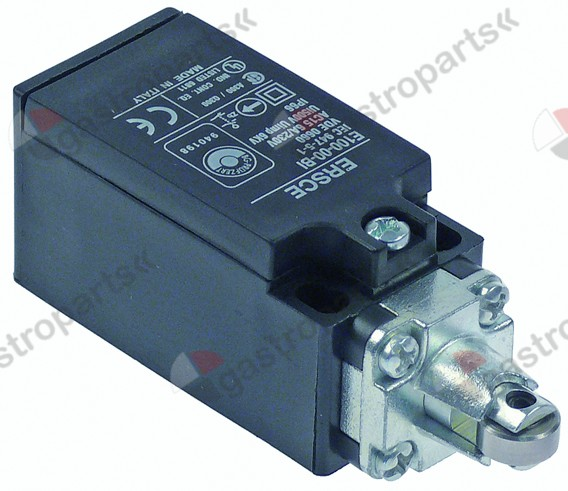 346.405, position switch plastic 1NO/1NC 230V 6A L 89mm