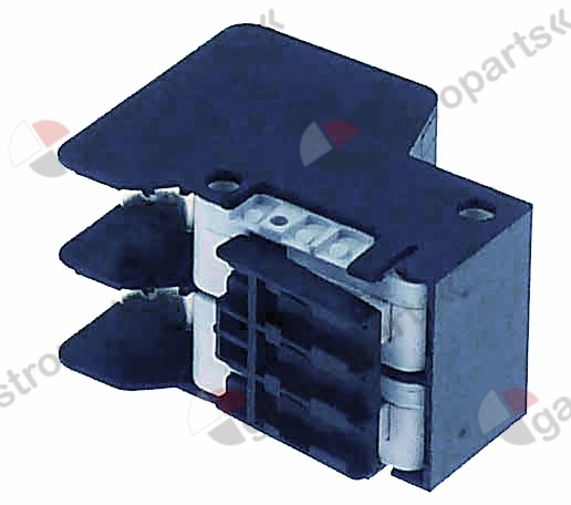 346.927, microswitch with lever 250V 10A 2CO