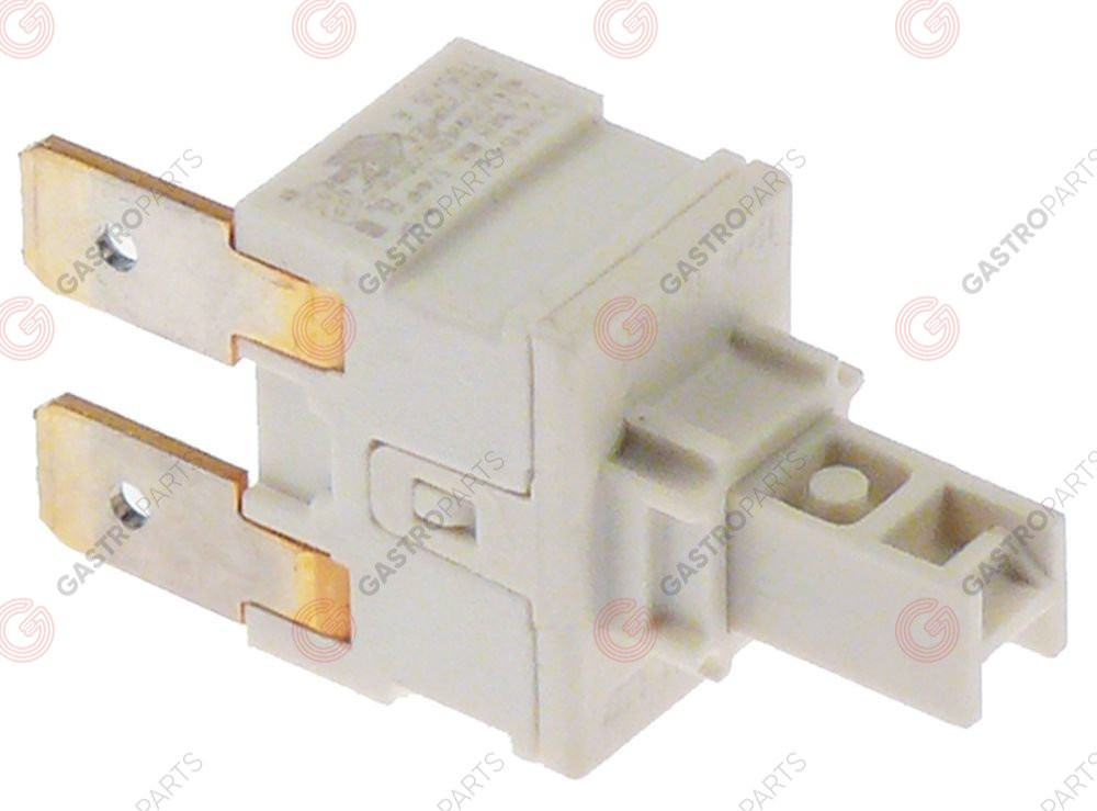 347.257, switching element 19x13mm 2 -poles 2NO 250 V 16 A