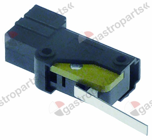 347.683, microswitch with lever 250V 12A 1CO