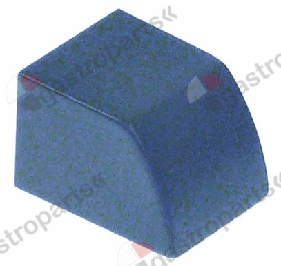 347.983, push button blue L 24,2mm W 19,2mm H 16,6mm