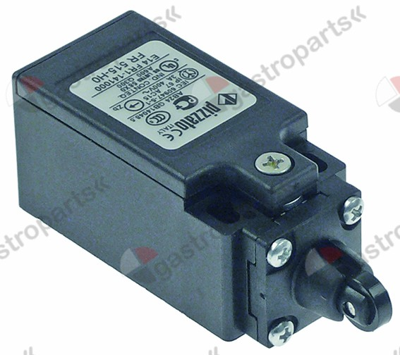347.985, position switch plastic 1NO/1NC 400V 3A L 80mm