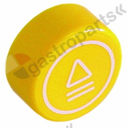 347.989, push button o 23mm yellow
