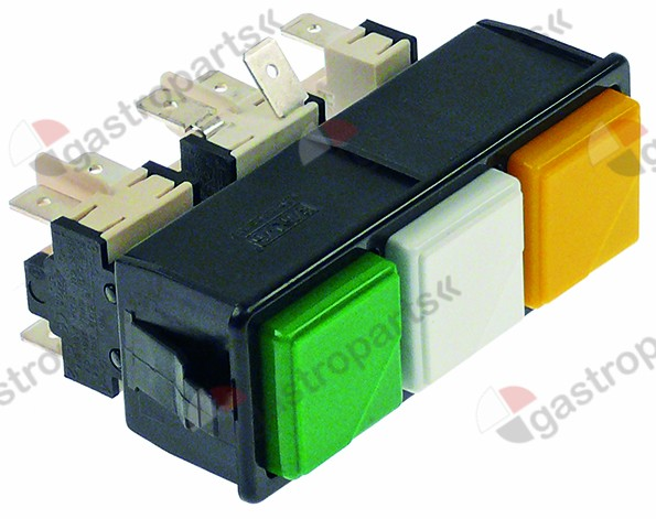 348.018, switch combination latching/latching/momentary mounting measurements 28.5x77.5mm