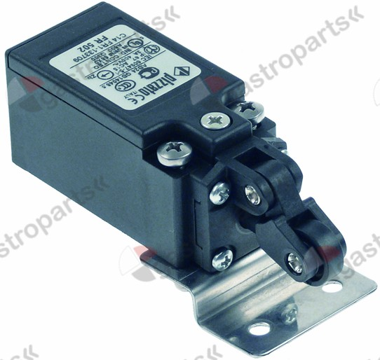 348.020, microswitch with holder 1NC/1NO L 92mm W 31mm H 31mm screw mounting