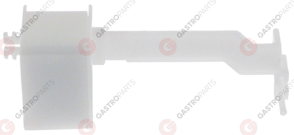 348.025, float without magnet L 84mm W 30mm H 25mm PVC