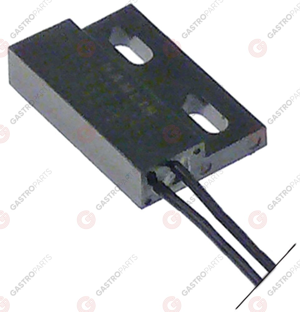 348.049, magnetic switch L 29mm W 19mm 1NO 250V 1,5A P max. 50W cable length 600mm