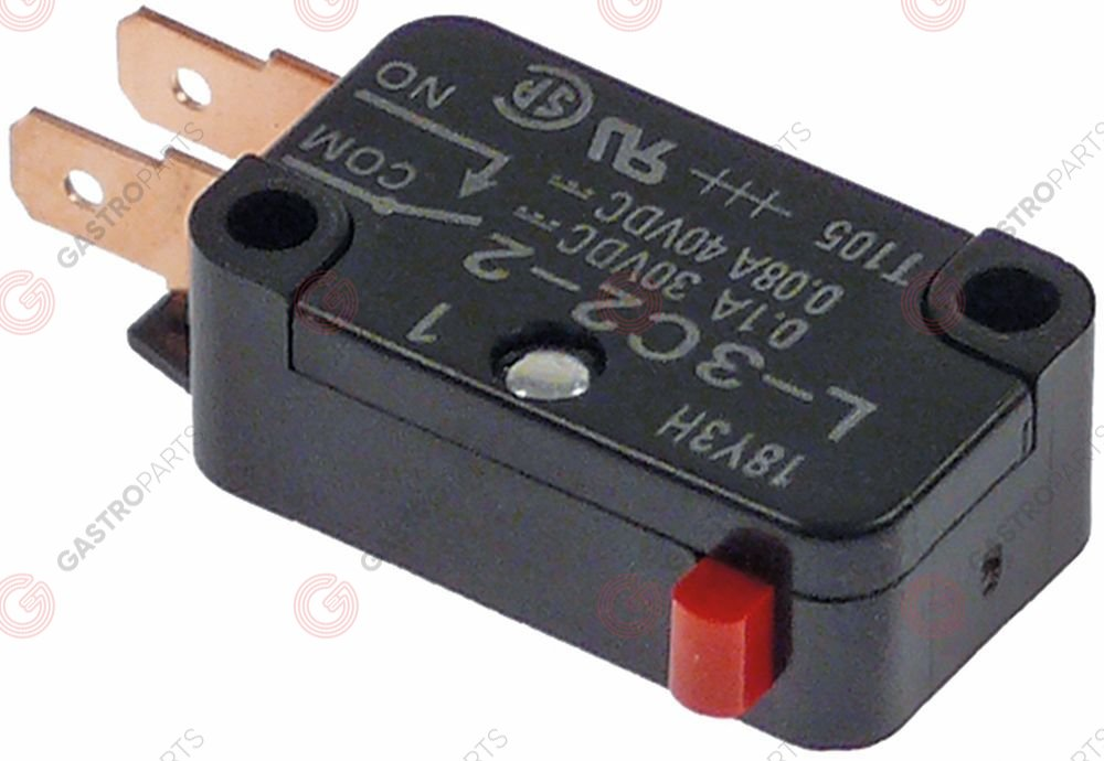 348.123, magnetic switch with plunger 30/40VDC 0,1/0,08A
