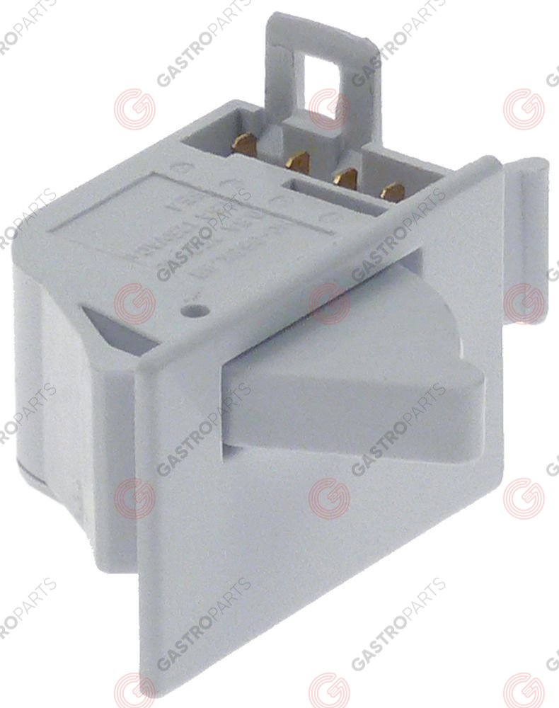348.227, microswitch 250V 0,5A connection male faston 2.8mm for fridge 1 PC