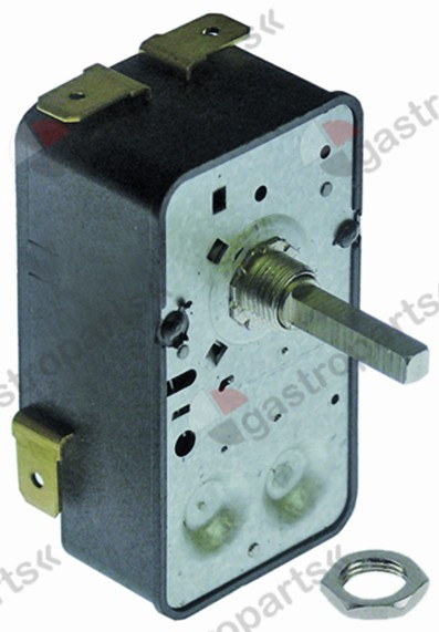 350.027, timer G 2-pole operation time 60min impulse mechanical 2NO at 250V 16A