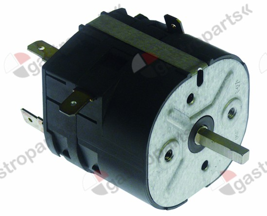 350.037, timer M2 3-pole operation time 5min impulse mechanical 3NO at 250V 16A