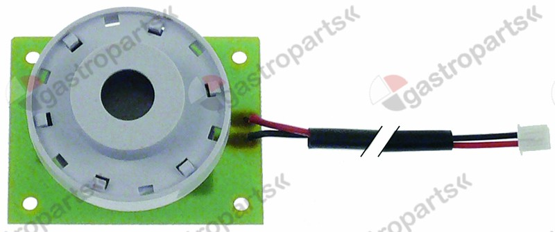 350.086, buzzer 12VDC connection cable 200mm PCB buzzer
