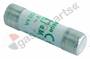 358.030, fine fuse size ø10x38mm 32A slow-acting rated 400V type aM Qty 1 pcs