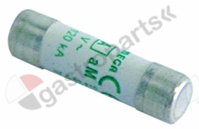 358.040, fine fuse size ø10x38mm 16A slow-acting rated 500V type aM Qty 1 pcs