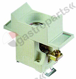 358.057, fuse holder suitable fuse D01 1-pole-pole 16A rated 400V