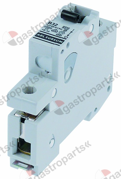 358.106, line circuit breaker 1-pole 25A tripping type B rated 240/415V nominal 25A