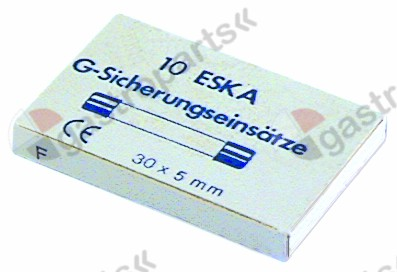 358.631, Replaced by 358735 / fine fuse size ø5x30mm 6,3A medium lag rated 500V