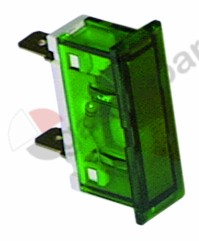 359.233, Replaced by 359452 / indicator light mounting measurements 34x10mm 400Vgreen