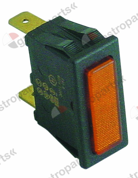 359.268, indicator light mounting measurements 30x11mm 400V yellow