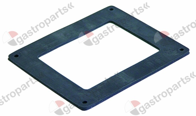 359.299, gasket L 91mm W 77mm hole ø 3mm for oven lamp