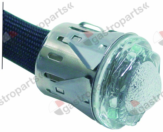 359.317, oven lamp mounting ø 28,5mm 12V 5W socket G4 temp.-resist. 300°C cable length 300mm