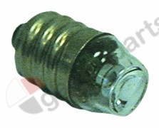 359.588, neon light bulb socket E14 230V green ø 14mm L 30mm