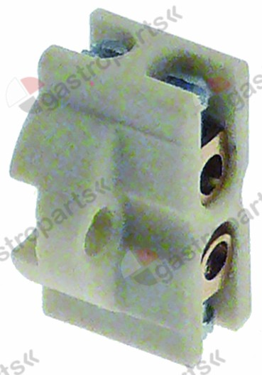 359.664, lamp socket W 21mm 24V socket GU10 connection grip connection ø 17mm H 12mm