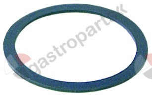 359.722, gasket silicone ID ø 57,5mm ED ø 68mm thickness 2mm