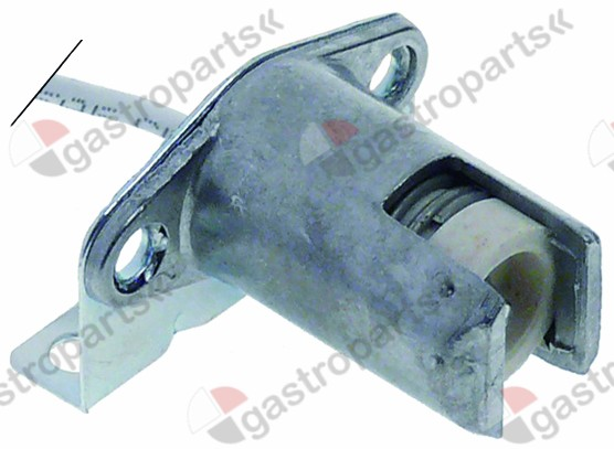 359.733, lamp socket socket R7s 250V ø 18mm H 40mm connection cable 230mm mounting distance 27mm