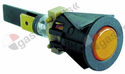 359.789, Replaced by 345536 / 345601 / 359130 / 359246 / indicator light ø 16mm 230V yellowconnection male faston 6.3mm