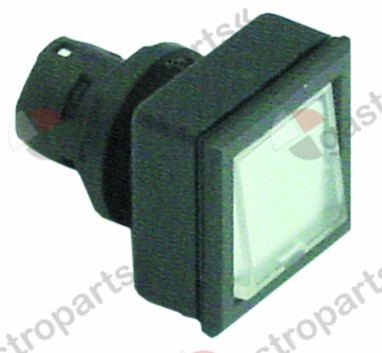 359.794, momentary switch unit type momentary mounting measurements 24x24mm black/transparent