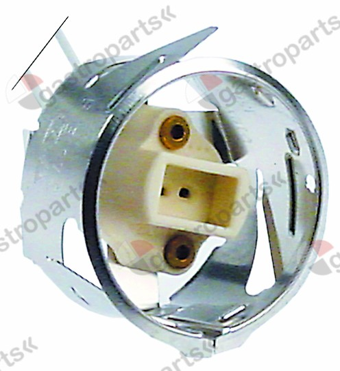359.841, lamp socket socket G4 mounting ø 35,5mm connection cable 3500mm