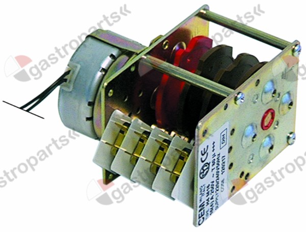 360.015, timer CEM HH4M16 engines 1 chambers 4 operation time 180s 230V manuf. no. 120217