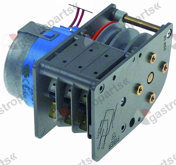 360.024, timer FIBER P25 engines 1 chambers 3 operation time 2min 230V manuf. no. P255J03H3N6