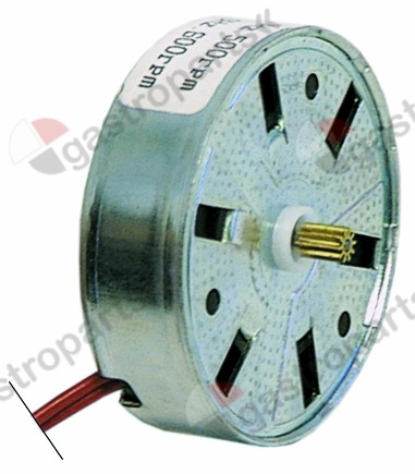 360.063, No longer available / motor FIBER motor type M51BJ0L2200 230Vmotor ø 50x15mm turn direction left