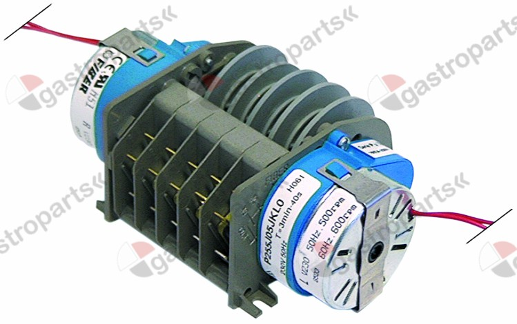 360.093, timer FIBER P25 engines 2 chambers 5 operation time 40s / 3min 230V