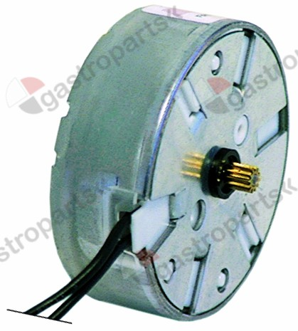 360.112, motor SAIA ø pinion/teeth 4 / 12 230V turn direction right motor ø 48mm