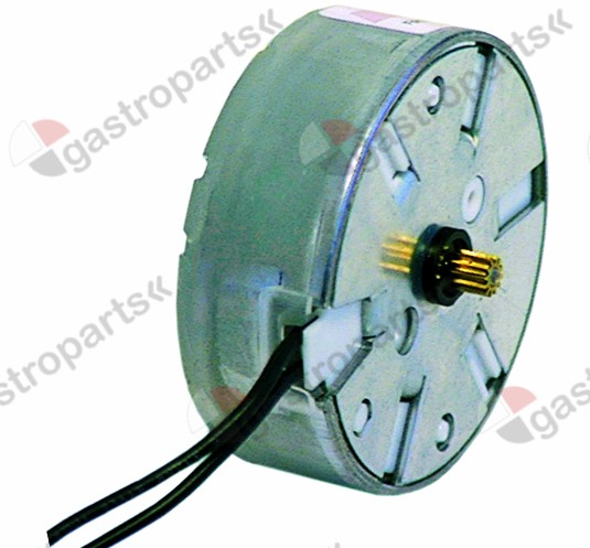 360.113, motor SAIA ø pinion/teeth 4 / 12 230V turn direction left motor ø 48mm