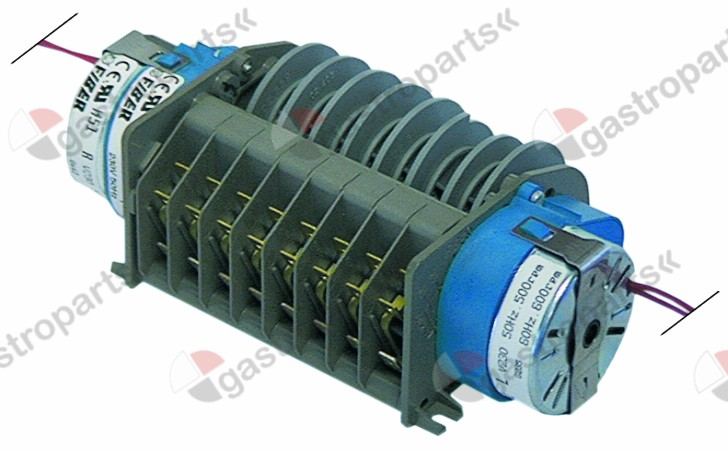 360.121, timer FIBER P25 engines 2 chambers 8 operation time 40s / 120s 230V