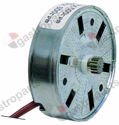 360.127, Replaced by 360673 / motor FIBER motor type M51BJ0R0000 230V 50/60Hzmotor ø 50x15mm turn direction right