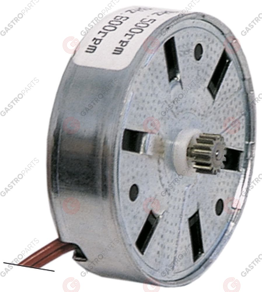 360.129, motor FIBER motor type M51B20R0000 24V voltage AC motor ø 50x15mm turn direction right