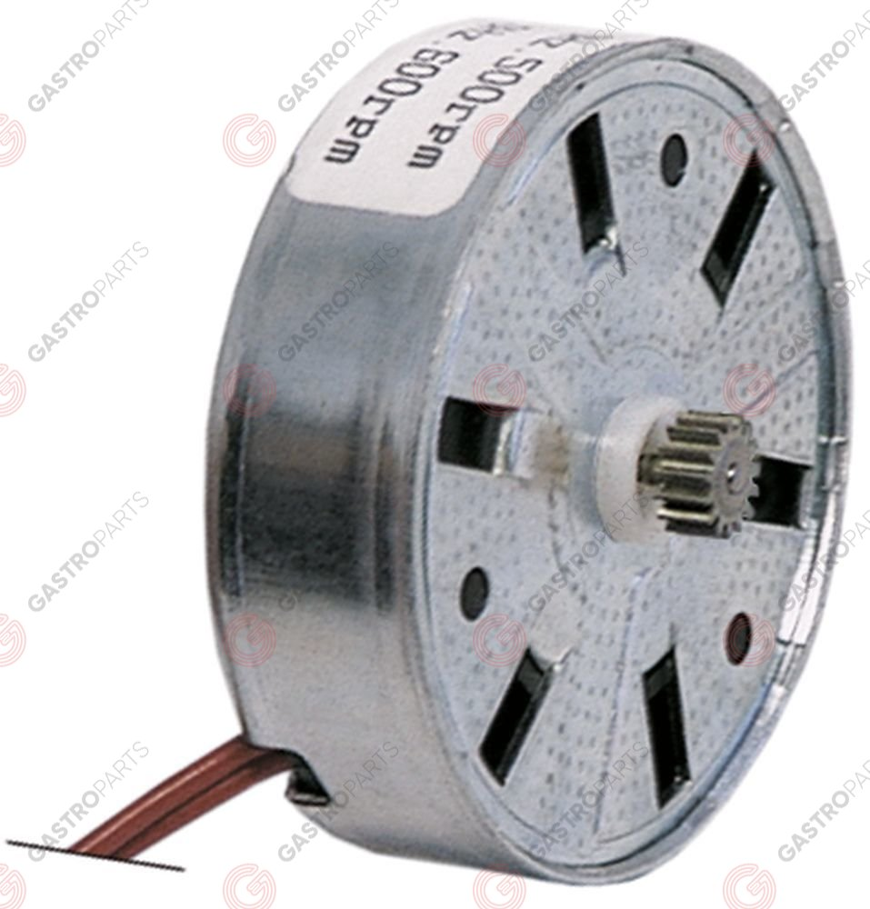 360.130, motor FIBER motor type M51B20L0000 24V 50/60Hz voltage AC motor ø 50x15mm turn direction left