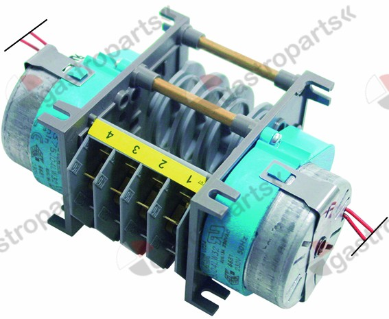360.141, timer FIBER P37 engines 2 chambers 4 operation time 1min / 4min 230V