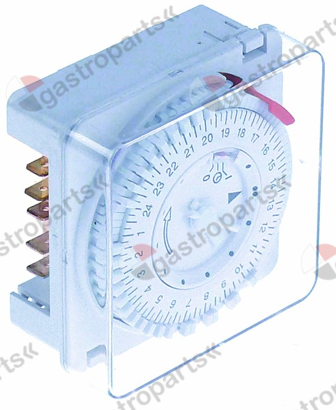 360.150, switch clock type 3611 defrosting interval 1-48x per 24h