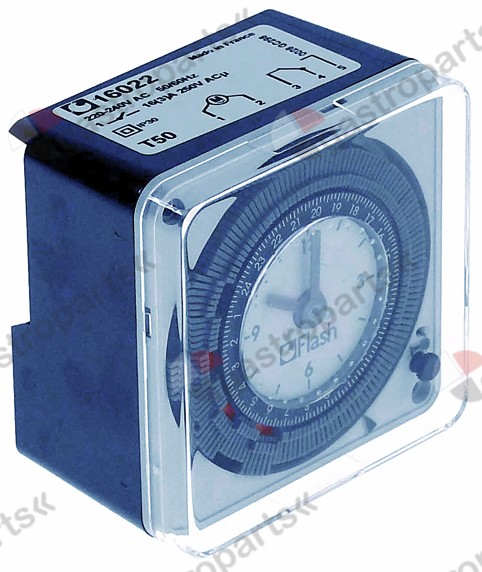 360.184, switch clock type 16022 defrosting interval 1-96 in 24h