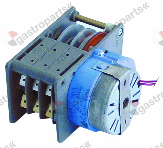 360.219, timer FIBER P25 engines 1 chambers 3 operation time 120s 230V manuf. no. P255J03H3C1