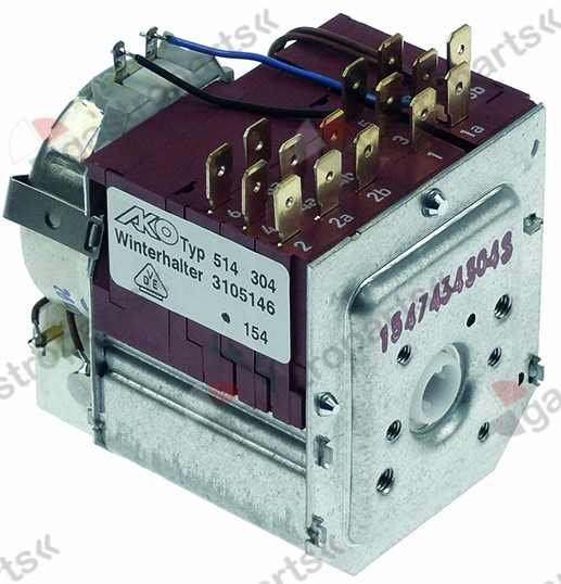 360.237, timer AKO-DIEHL 514 chambers 6 230V voltage AC