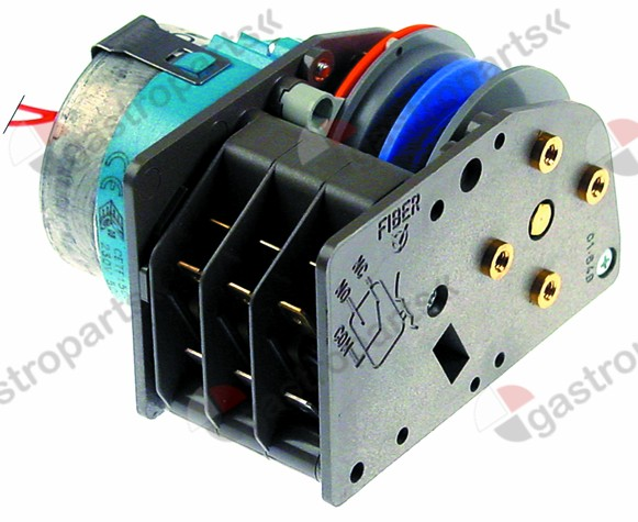 360.249, Replaced by 360219 / timer FIBER P25 engines 1 chambers 3operation time 150s 230V manuf. no. P255J03H4U7