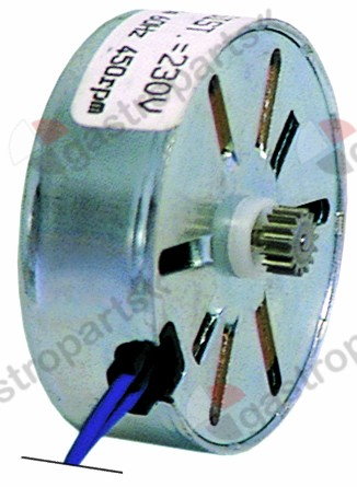 360.319, motor FIBER motor type M61B40L0000 230V voltage AC motor ø 42x15mm turn direction left