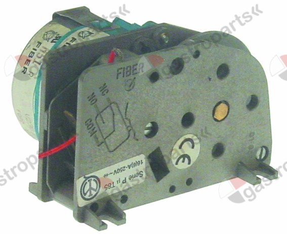360.332, timer FIBER P25 engines 1 chambers 1 operation time 60s 230V manuf. no. P255J01H191